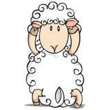 Illustrazione delle pecore Fotografia Stock Libera da Diritti