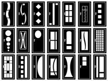 Illustrazione delle porte royalty illustrazione gratis