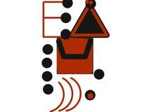 Illustrazione dello Spam del email Fotografia Stock