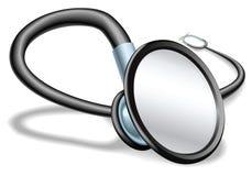 Illustrazione dello stetoscopio Fotografia Stock Libera da Diritti