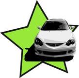 Illustrazione di Acura RSX Fotografia Stock