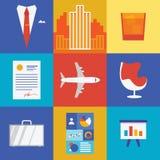 Illustrazione di affari e di ricchezza Fotografie Stock Libere da Diritti