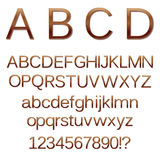 Illustrazione di alfabeto Immagine Stock Libera da Diritti