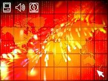 Illustrazione di alta tecnologia Fotografia Stock Libera da Diritti