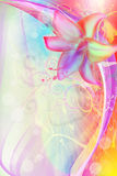 Illustrazione di arte del fiore Immagine Stock