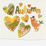 Illustrazione di autunno Fotografia Stock Libera da Diritti