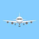 Illustrazione di aviazione di vettore dell'icona dell'aeroplano Fotografie Stock Libere da Diritti