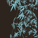 Illustrazione di bambù di vettore Immagini Stock Libere da Diritti