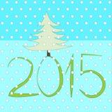 Illustrazione di Buon Natale e del buon anno Fotografia Stock Libera da Diritti