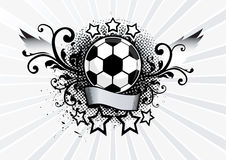 Illustrazione di calcio Immagini Stock