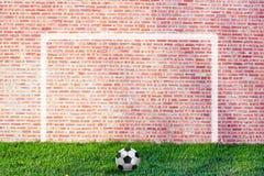 Illustrazione di calcio della via Fotografia Stock