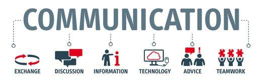 Illustrazione di comunicazione dell'insegna royalty illustrazione gratis