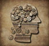 Illustrazione di concetto 3d di psicologia illustrazione vettoriale