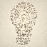 Illustrazione di concetto di idea Fotografia Stock