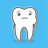 Illustrazione di concetto di mal di denti Fotografia Stock Libera da Diritti
