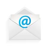 Illustrazione di concetto di protezione del email Immagine Stock