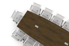 Illustrazione di congresso Table-3d Immagini Stock