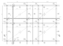 Illustrazione di costruzione Fotografia Stock
