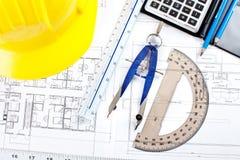 Illustrazione di costruzione Fotografie Stock