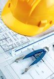 Illustrazione di costruzione Immagini Stock