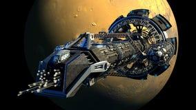 illustrazione di 3D Spaceshuttle Fotografia Stock