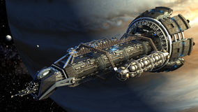 illustrazione di 3D Spaceshuttle Immagine Stock Libera da Diritti