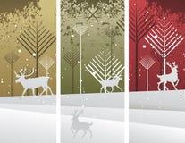 Illustrazione di Deers Fotografia Stock