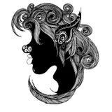 Illustrazione di disegno a mano libera immagini stock