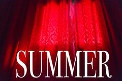 Illustrazione di estate di stagione fotografia stock libera da diritti