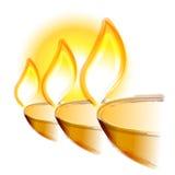 Illustrazione di grande festival di Diwali immagine stock libera da diritti