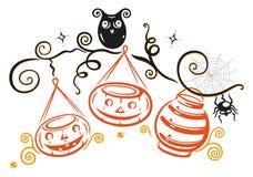Illustrazione di Halloween Immagine Stock