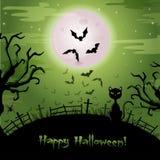 Illustrazione di Halloween. Fotografia Stock Libera da Diritti