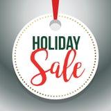 Illustrazione 1 di Hang Tag Holiday Sale Vector Fotografia Stock Libera da Diritti