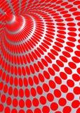 Illustrazione di illusione ottica Fotografia Stock Libera da Diritti