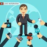 Illustrazione di intervista royalty illustrazione gratis
