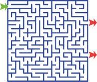 Illustrazione di labirinto   fotografia stock