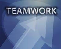 Illustrazione di lavoro di squadra Immagine Stock