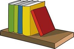 Illustrazione di libri Immagini Stock Libere da Diritti