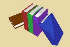 Illustrazione di libri Fotografia Stock Libera da Diritti
