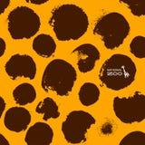 Illustrazione di logo della giraffa di vettore Immagine Stock Libera da Diritti
