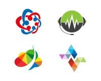 Illustrazione di Logo Template di tecnologia fotografia stock libera da diritti