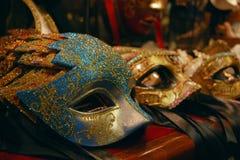 Illustrazione di mascherine veneziana Fotografia Stock Libera da Diritti