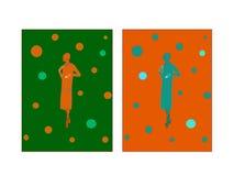 Illustrazione di modo di autunno Fotografie Stock