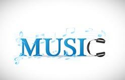 Illustrazione di musica illustrazione vettoriale