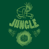 Illustrazione di musica della maglietta della giungla di Ragga Fotografia Stock