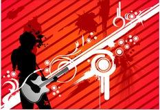 Illustrazione di musica di vettore Immagine Stock Libera da Diritti