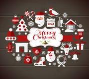 Illustrazione di Natale Fotografie Stock Libere da Diritti