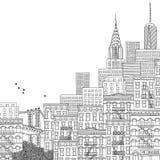 Illustrazione di New York Fotografia Stock Libera da Diritti