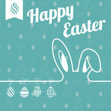 Illustrazione di Pasqua Fotografia Stock Libera da Diritti