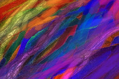 Illustrazione di pittura variopinta Immagini Stock